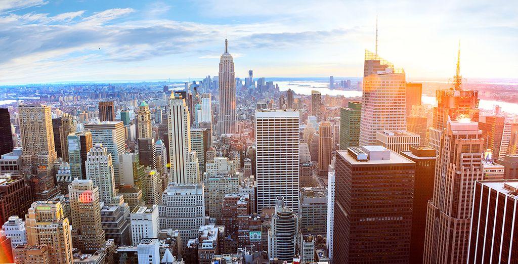 Partez à la découverte de deux villes emblématiques des Etats Unis