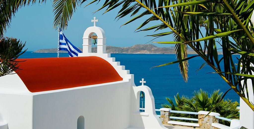 Entre charme et luxe sur l'ile de Mykonos
