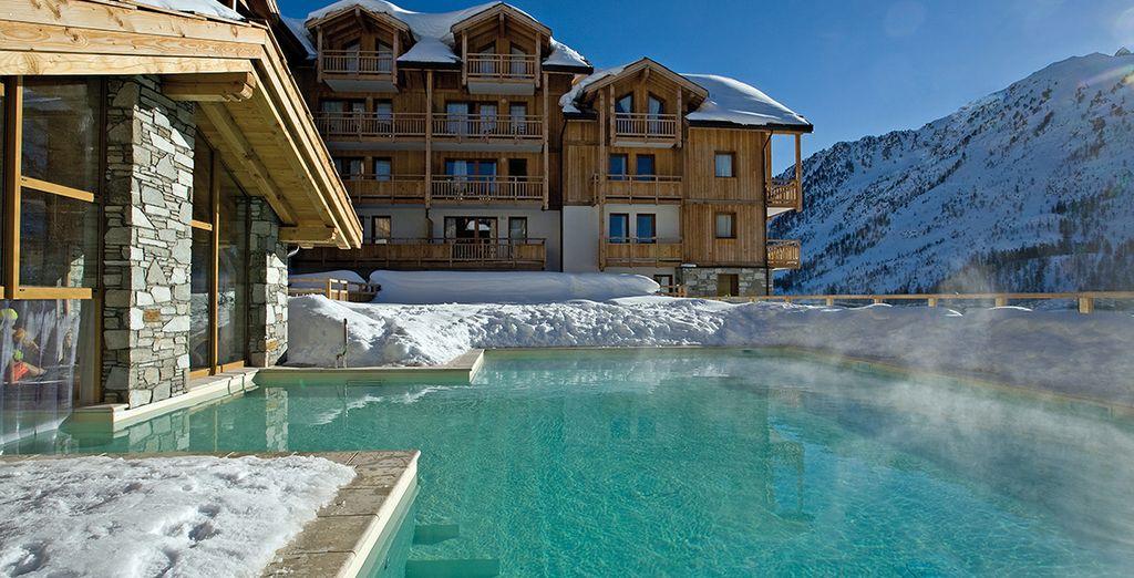 Envie d'allier vacances de sports d'hiver, confort et charme ?