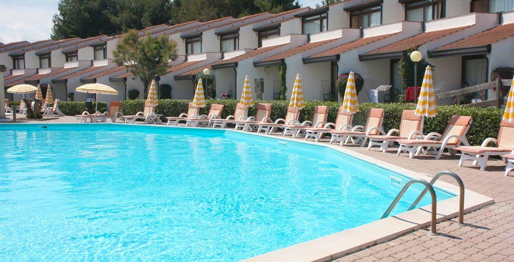 Avant d'aller lézarder au bord de l'une des piscines de l'hôtel...