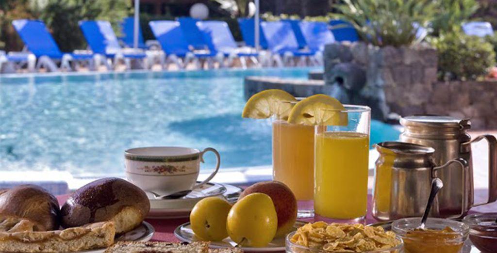 Profitez de votre formule petit-déjeuner