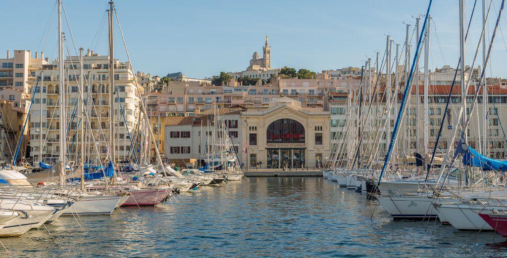 Photographie de Notre-Dame de la Garde à Marseille