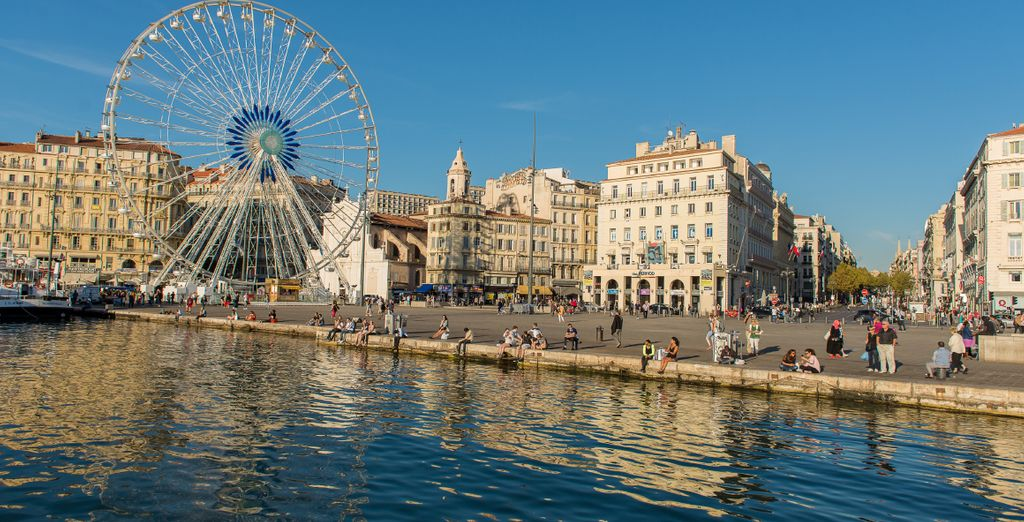 Photographie du vieux port à Marseille