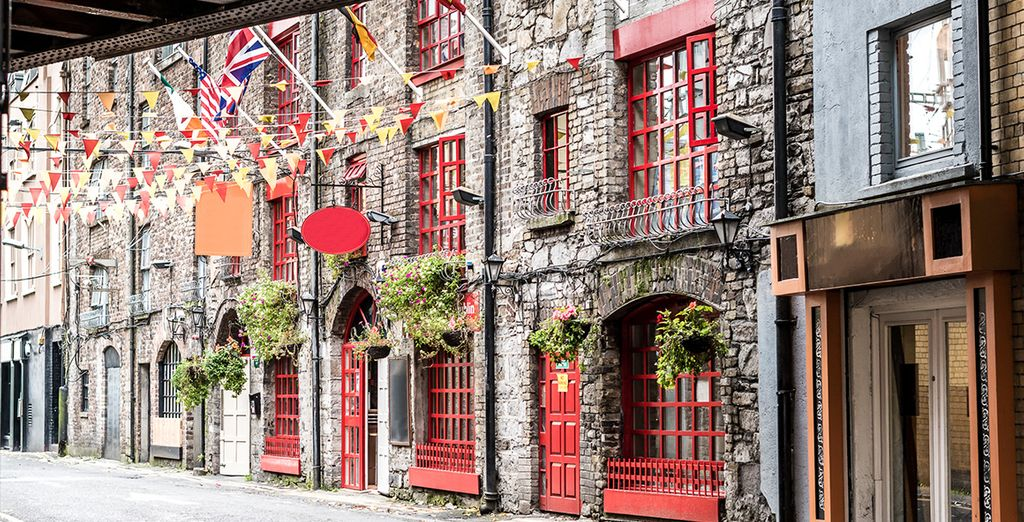 Ruelles et belles villes d'Irlande