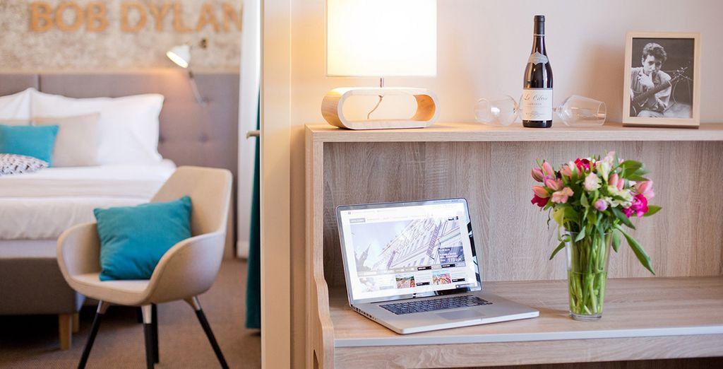 Hôtel design, tout confort au cœur de la ville de Prague