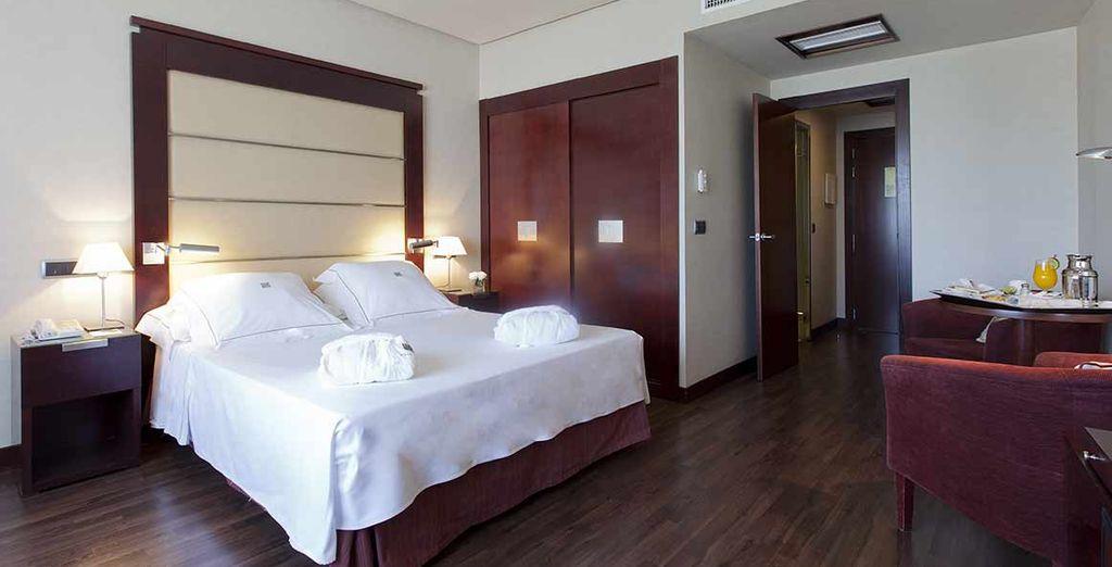 Hôtel de luxe en Espagne, au cœur de la ville de Malaga