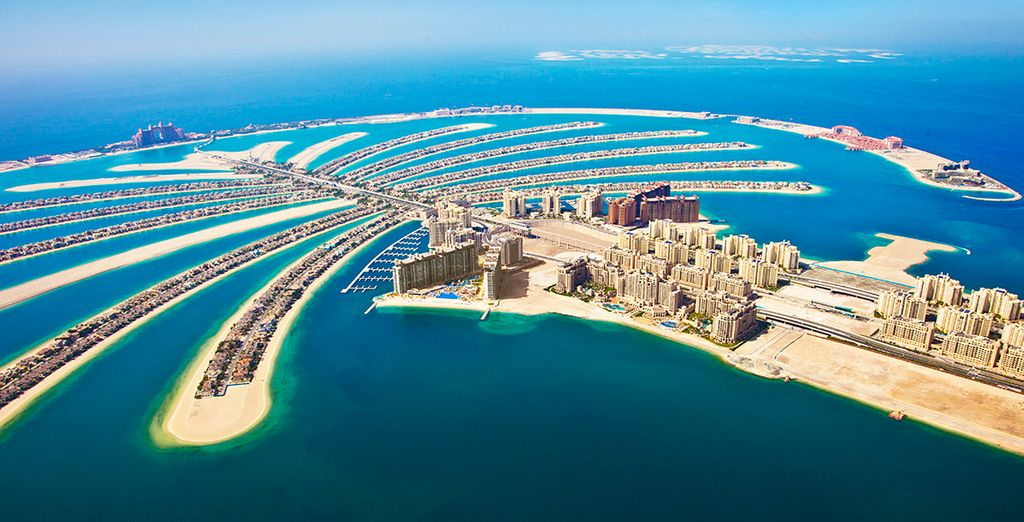 Photographie de la Palm Islands à Dubaï