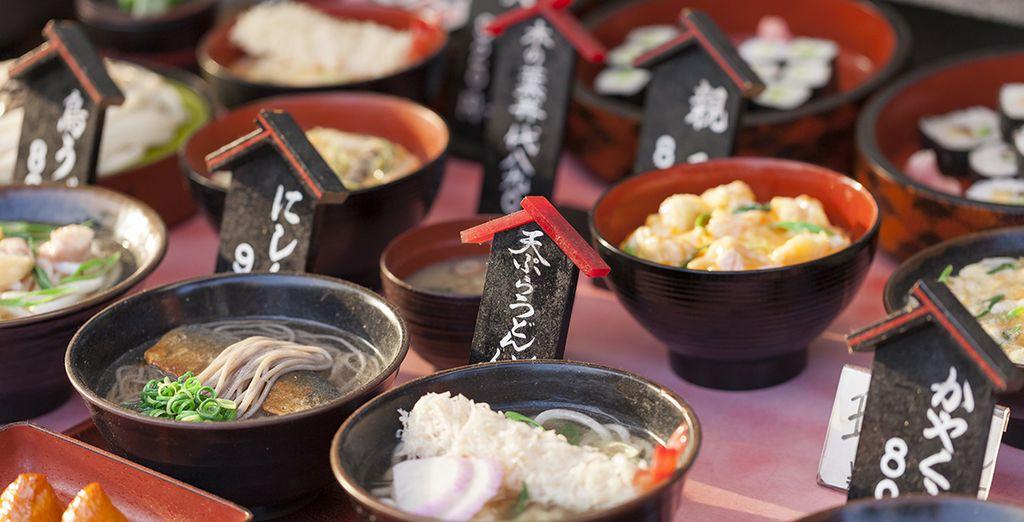 Découverte des spécialités japonaise