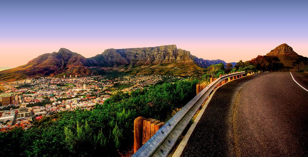 Découvrez l'Afrique du Sud en passant par Cape Town