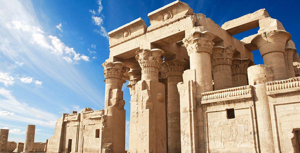 Paysages admirés lors d'une croisière en Égypte