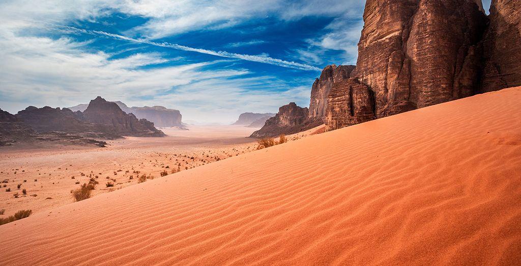 Circuit et paysages exceptionnels de Jordanie