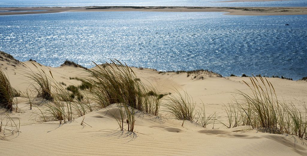 Plage de la Dune du Pilat dans les Landes