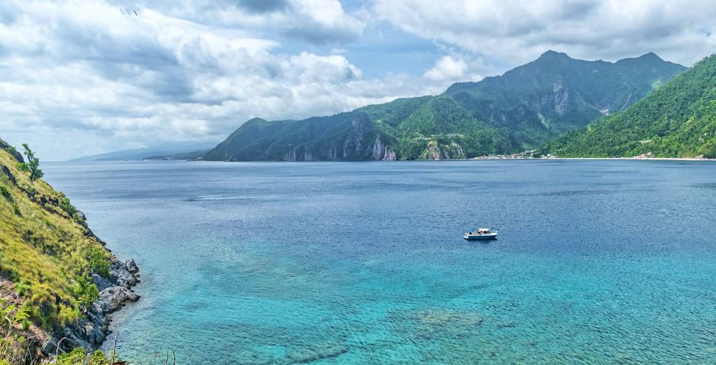 Profitez en pour réaliser une petite excursion vers l'île de la Dominique