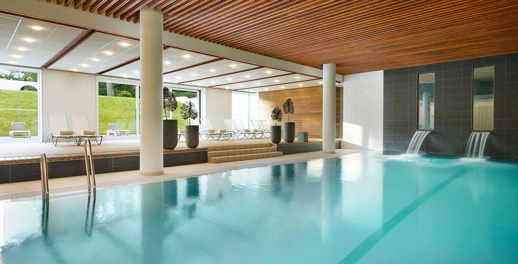 Hôtel haut de gamme avec piscine, spa et espace détente tout confort