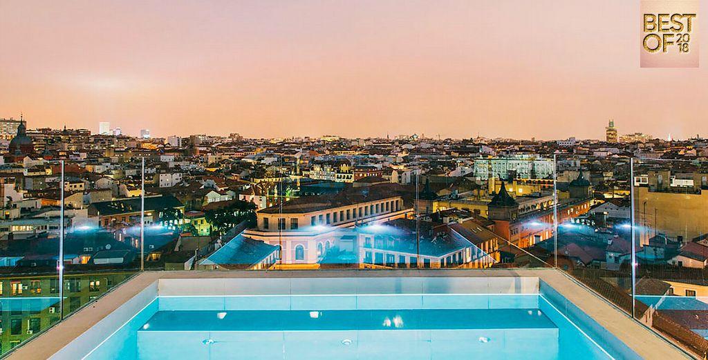 Dear Hotel 4*, hôtel de luxe avec piscine et vue panoramique sur la ville de Madrid