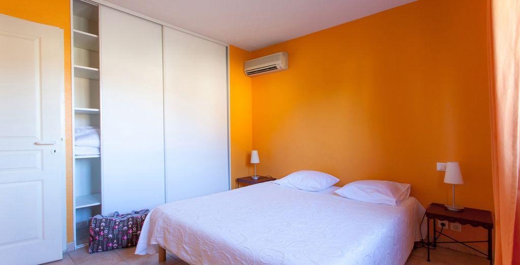 Découvrez le confort de votre chambre