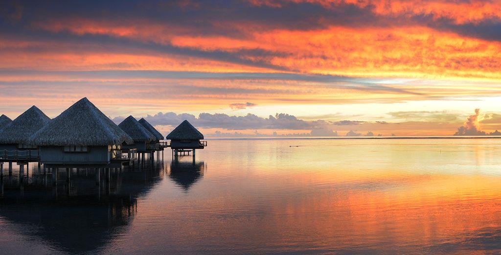 Assistez à des couchers de soleil spectaculaires en Polynésie Française