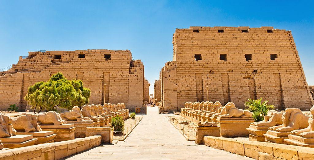 Temple de Louxor en Egypte