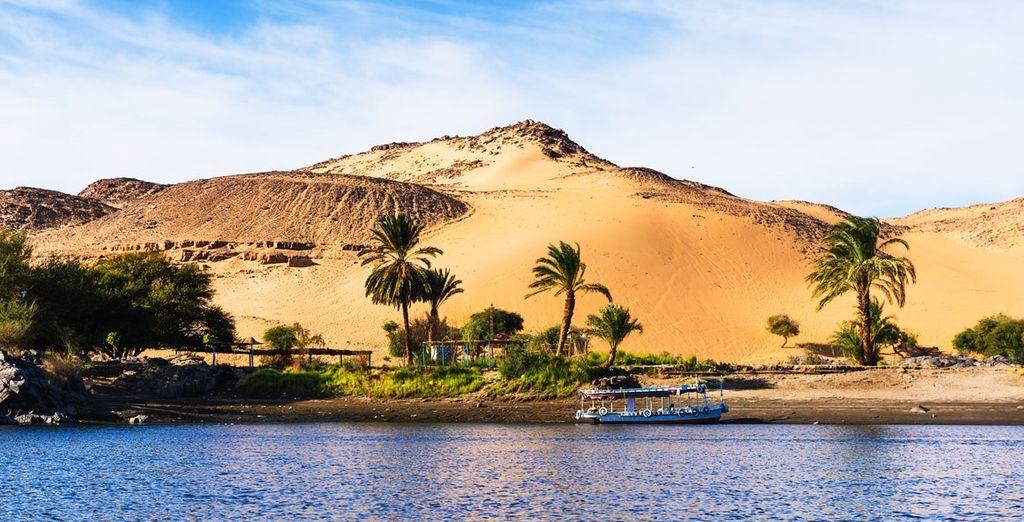 Dune de sable en Egypte