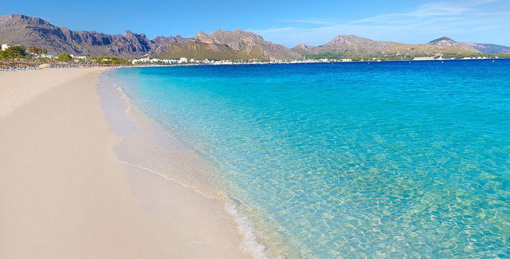 Prélassez-vous sur la belle plage de Muro à Majorque