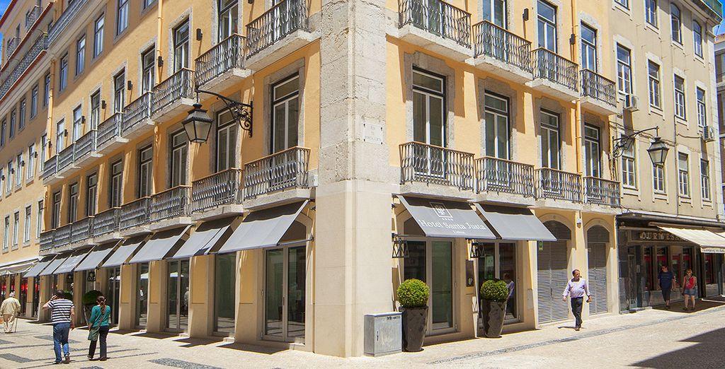 Hôtel Santa Justa Lisboa 4* avec Voyage Privé