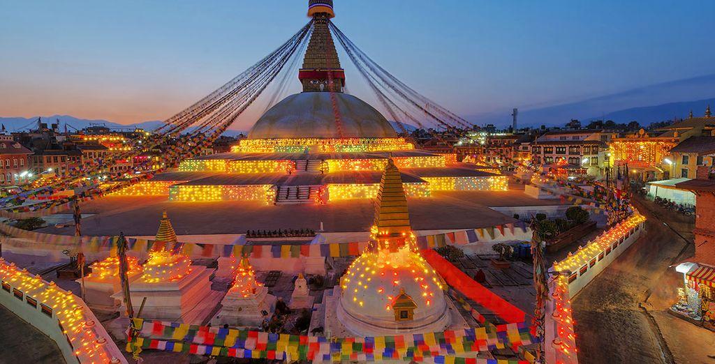 Partez pour le Népal et sa capitale Katmandu