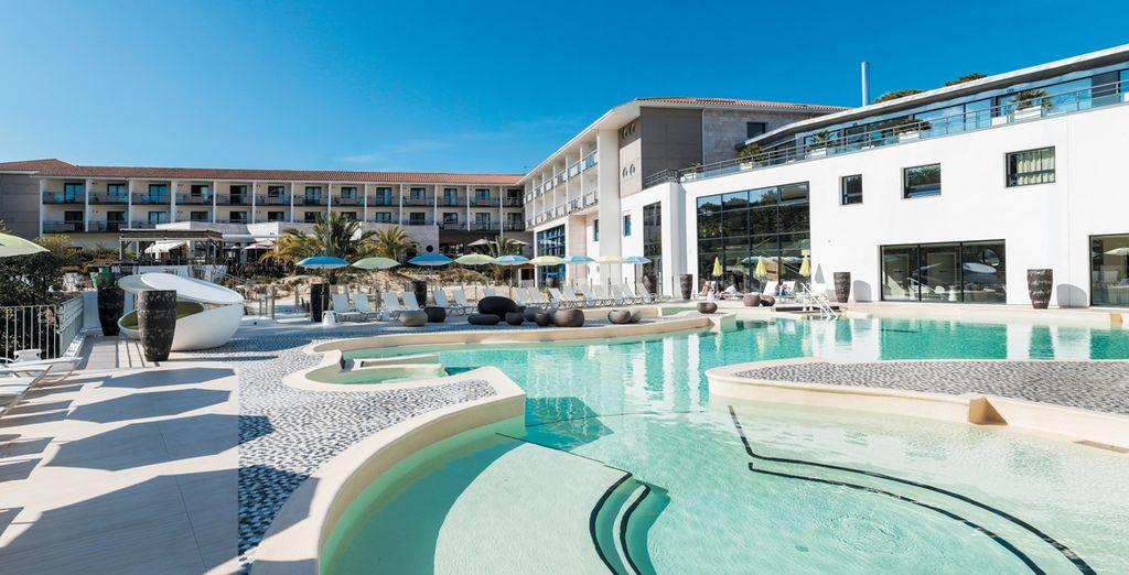 Hôtel Les Bains d'Arguin 4* - Thalazur avec Voyage Privé