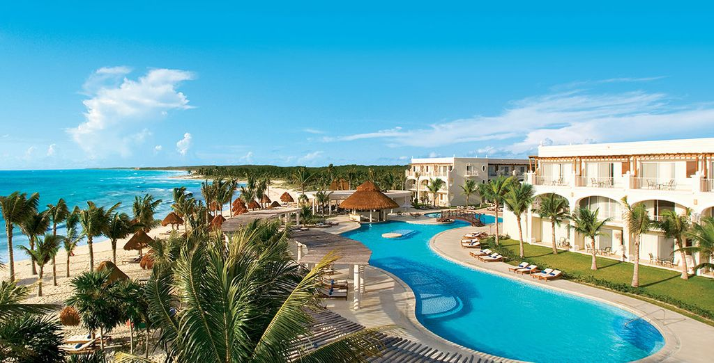 Hôtel Dreams Tulum 5* avec circuit Yucatán possible