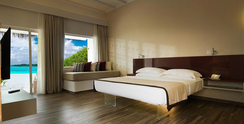 Photographie de l'Hôtel Cocoon Maldives 5* et d'un voyage à petit prix en Asie du Sud