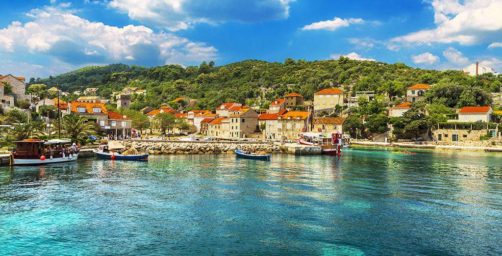 Croisière vers les îles de la Croatie