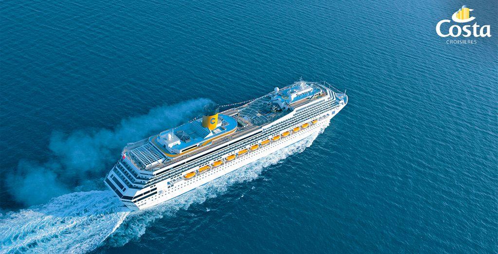 Bienvenue à bord du Costa Magica ! - Croisière Mer & Mythes en 8 jours / 7 nuits Venise