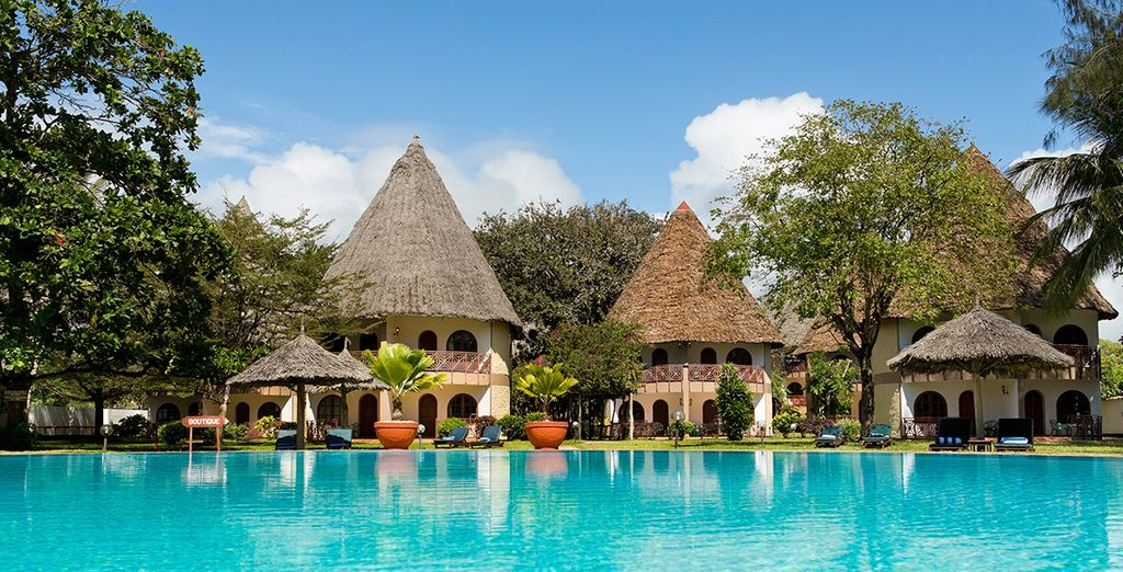 Neptune Paradise Beach Resort & Spa 4* avec safaris possibles