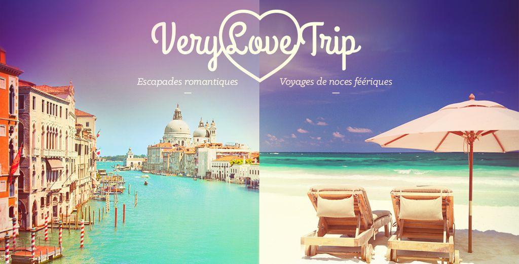 Réservez vite votre séjour romantique!