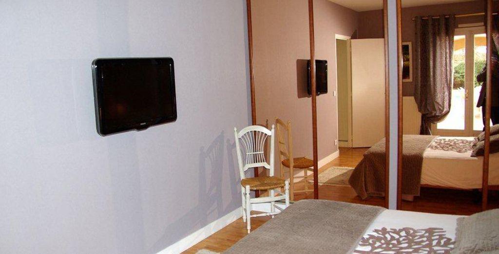 Des chambres bien aménagées