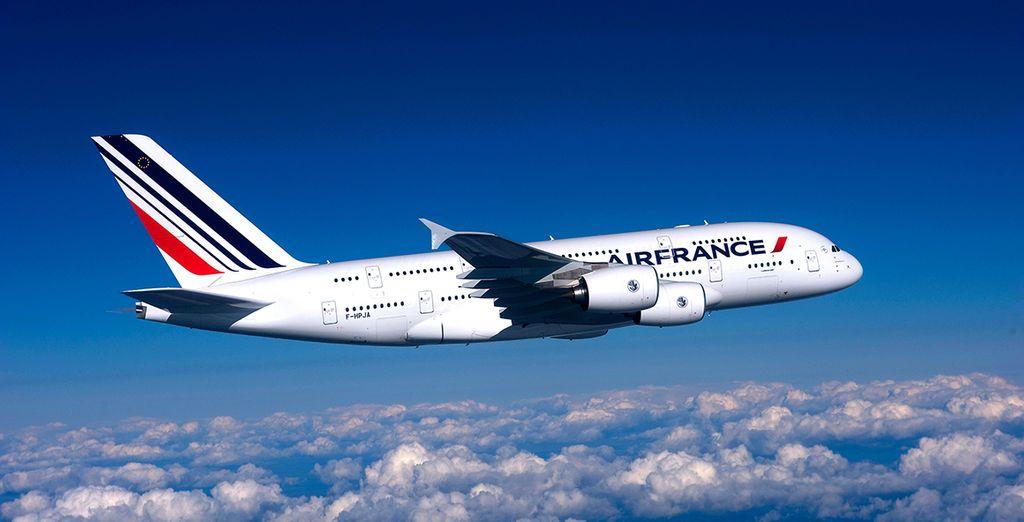 Qui commenceront à bord de l'A380 - Autotour Floride en cabriolet 9 ou 11 nuits - Vol Business en A380 avec Air France Miami