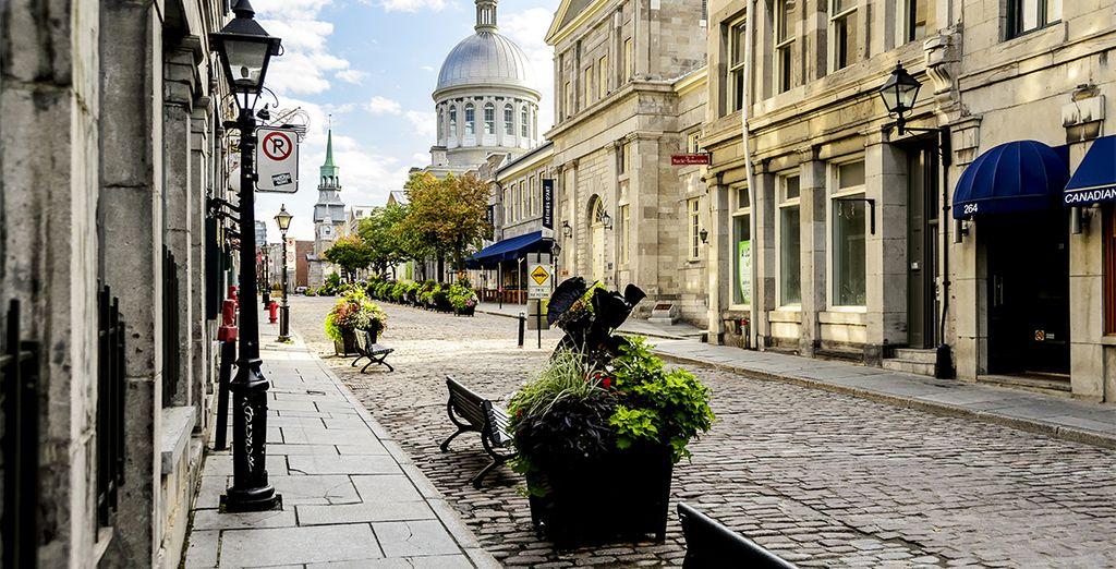 Prenez le temps de vous promener dans la vieille ville