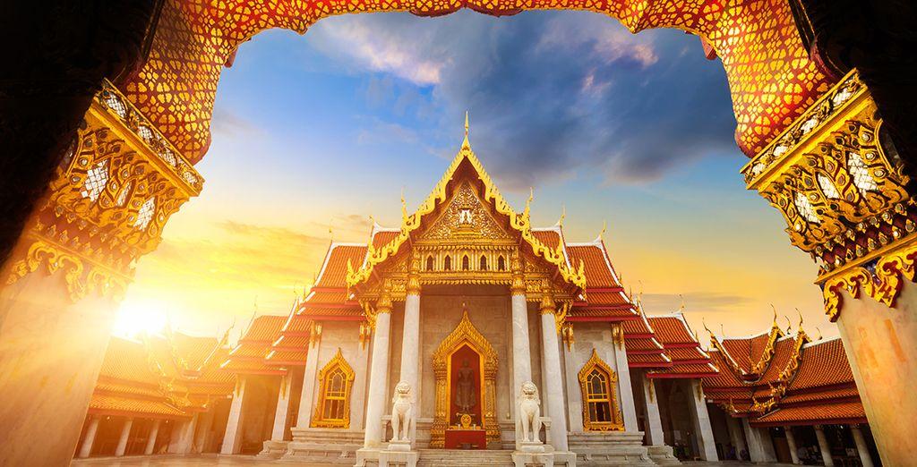 Si vous choisissez notre offre avec 2 nuits à Bangkok