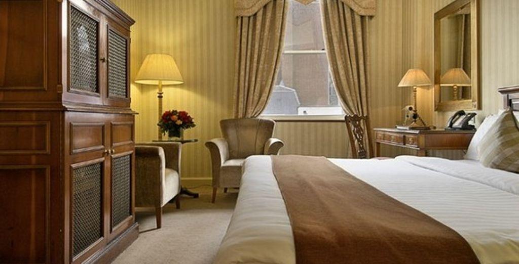 La chambre Standard  - Hôtel Millenium Mayfair **** Londres