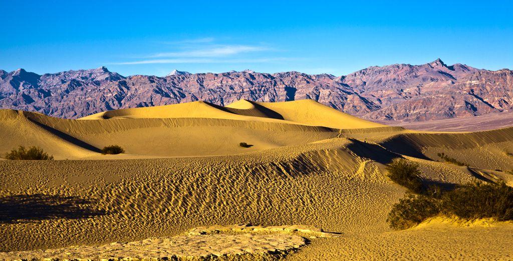 Vous traverserez également des déserts