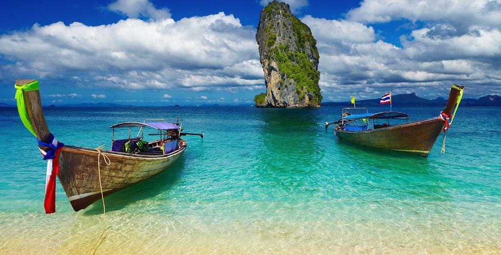 Sans omettre les plus belles plages de Phuket...