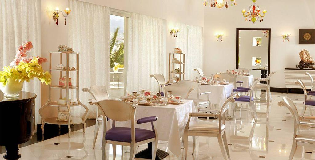Profitez du cadre haut de gamme du restaurant Précieux pendant vos repas