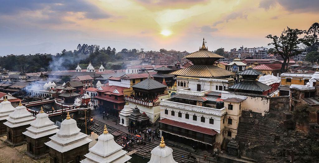 Puis cap sur la capitale du royaume bouddhiste