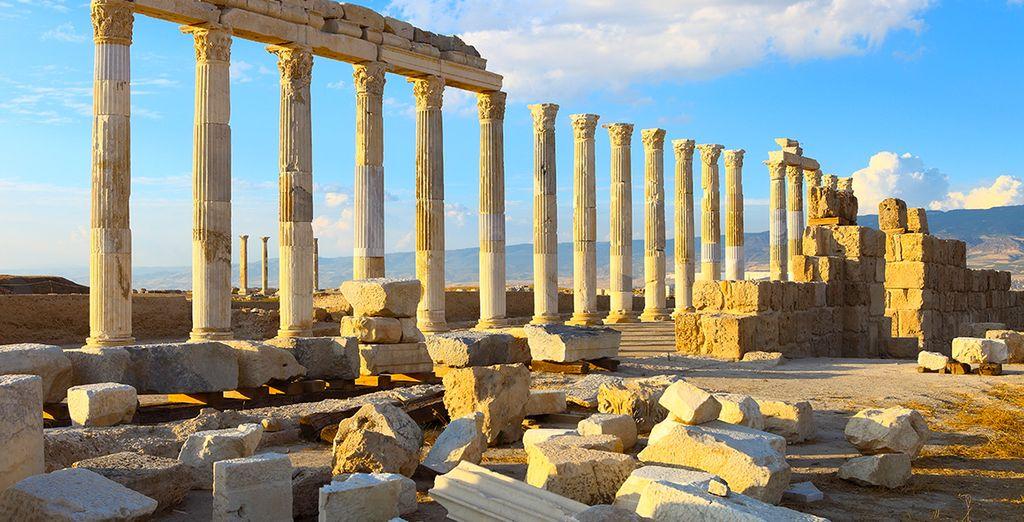Admirez les ruines de Denizli avant d'être ...
