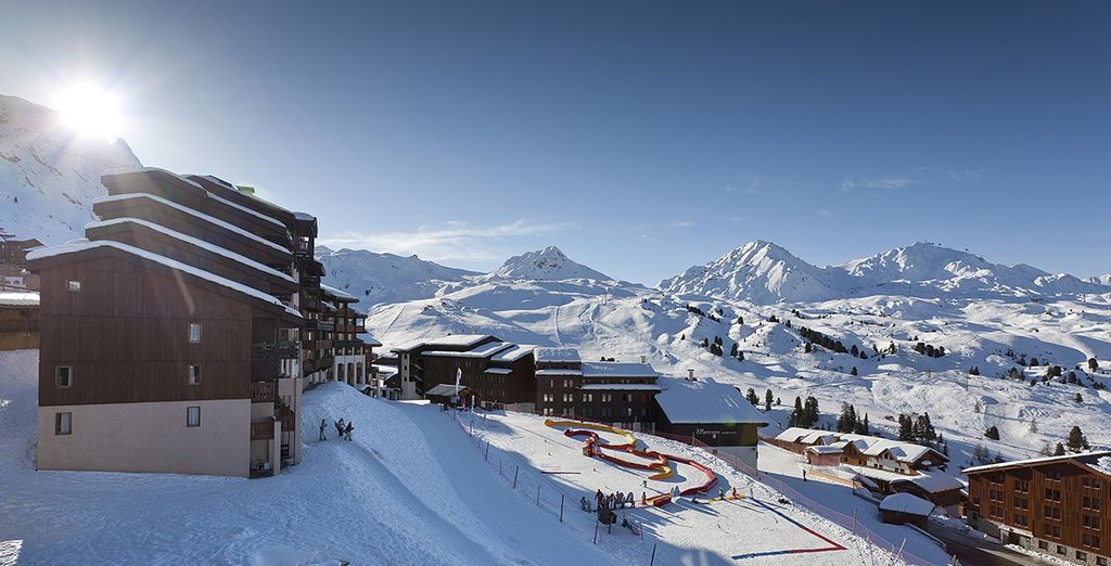 Une station dite ski aux pieds