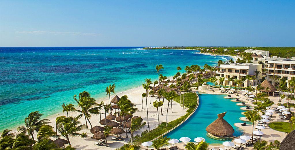 Et installez-vous au Secrets Akumal Riviera Maya