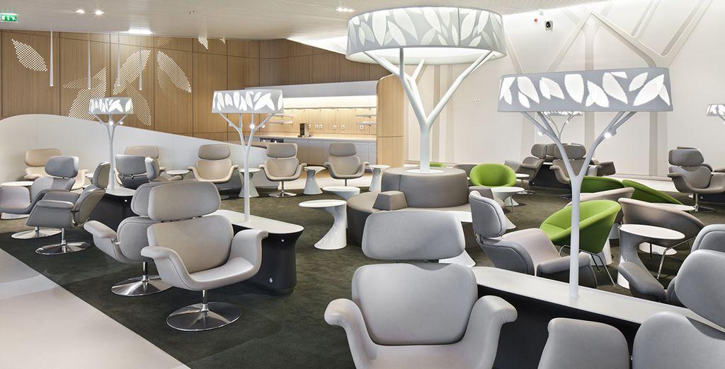 ...Ou en Business et découvrez l'atmosphère paisible de ses salons...