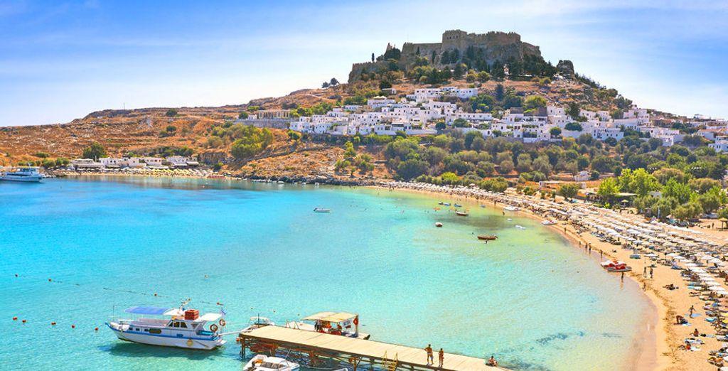 Rendez-vous sur la charmante île de Poros...