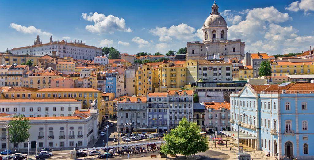 Débutez votre séjour à Lisbonne - Autotour au Portugal en 8 jours  / 7 nuits Lisbonne