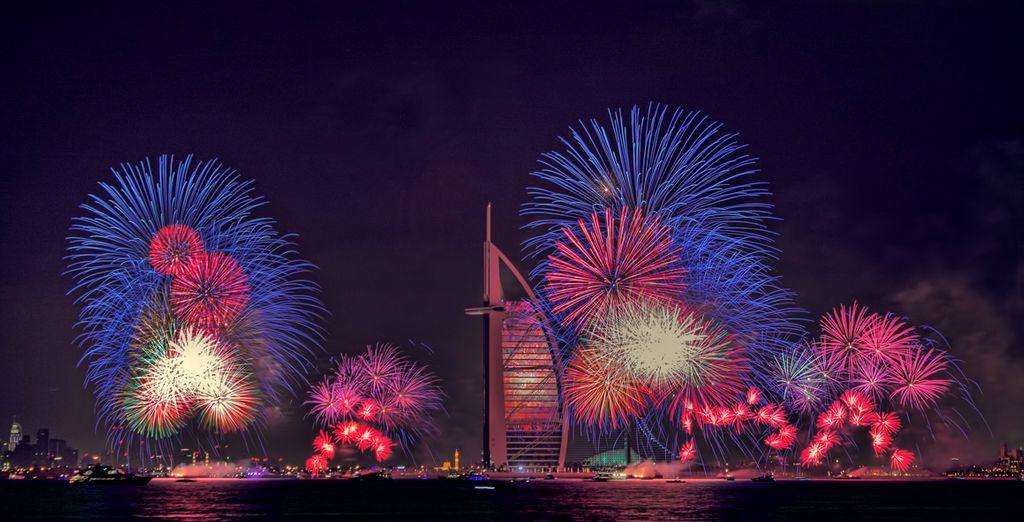 Réveillon du Nouvel An à Dubaï en hôtel 4*