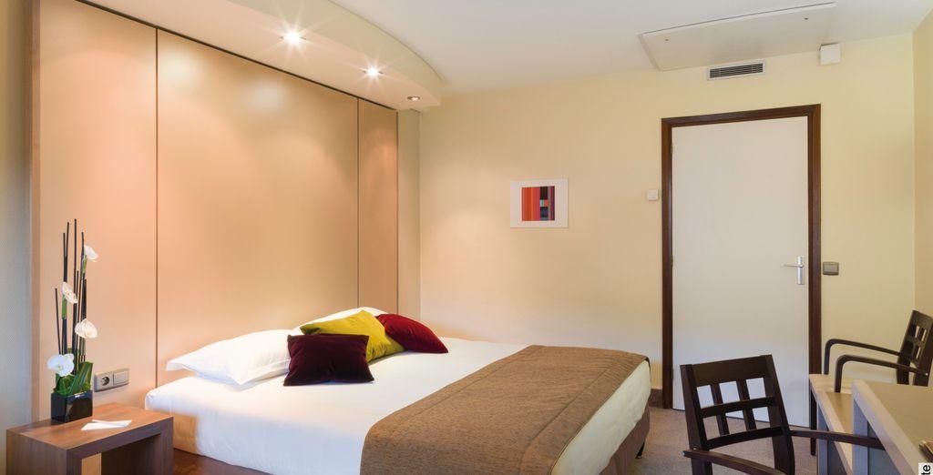 Où vous aurez le choix de séjourner en Chambre Confort